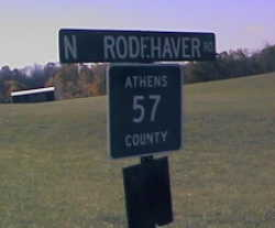 North Rodehaver Rd Sign
